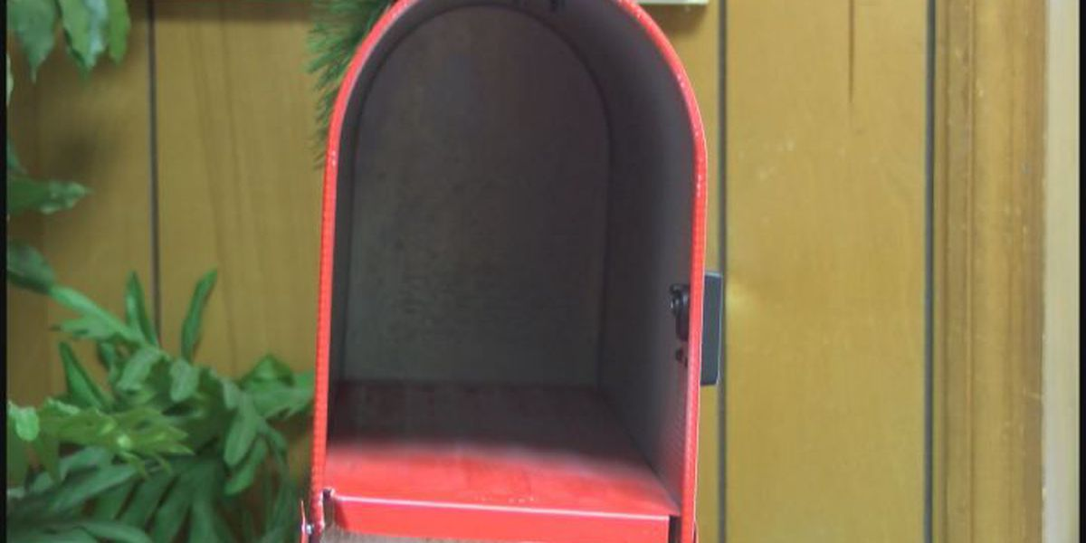 Letters to Santa mailbox is empty