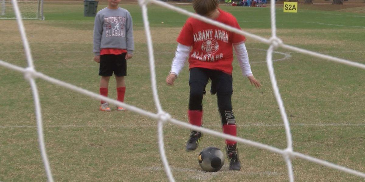 GRPA state soccer tournament at Remington Park