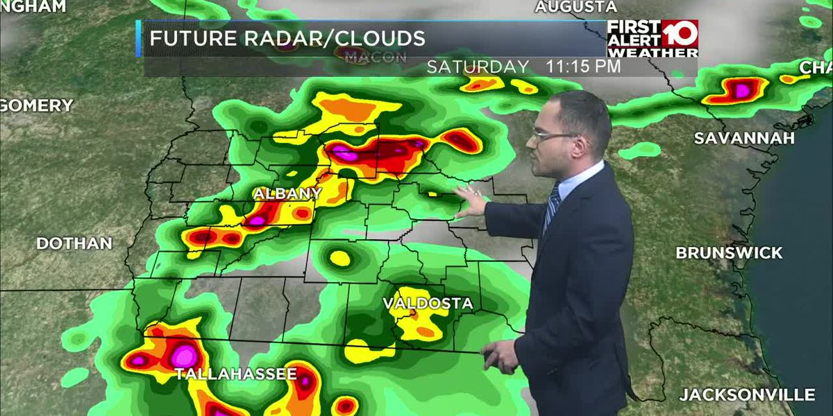 First Alert Forecast Saturday late evening