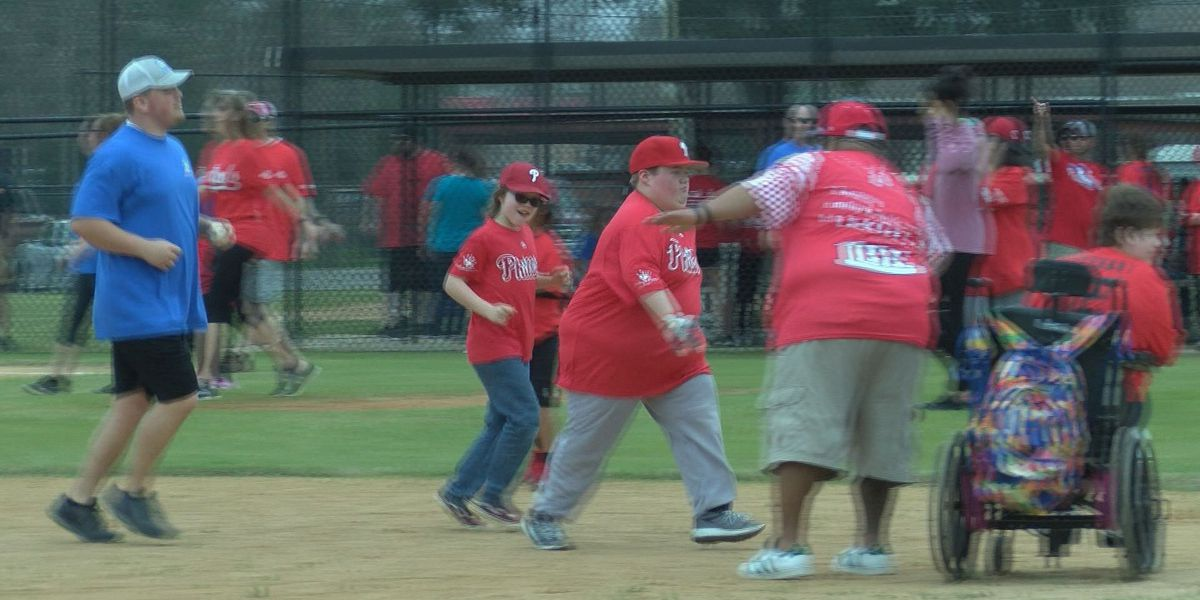 League for children with special needs begins baseball season