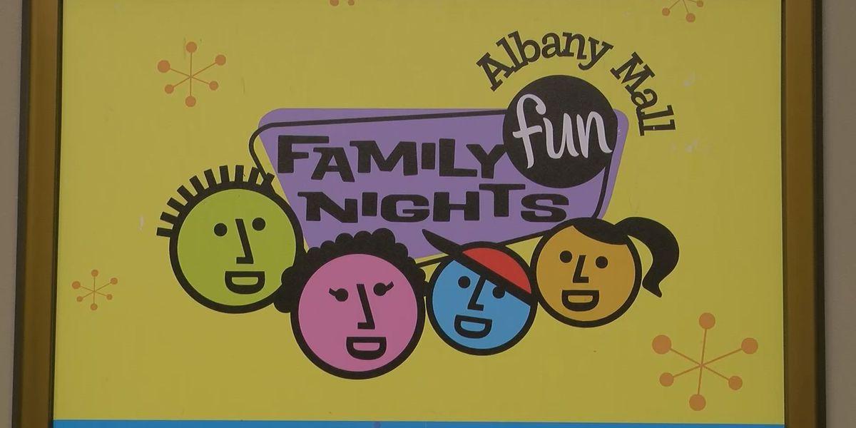 Albany Mall to host Family Fun Nights