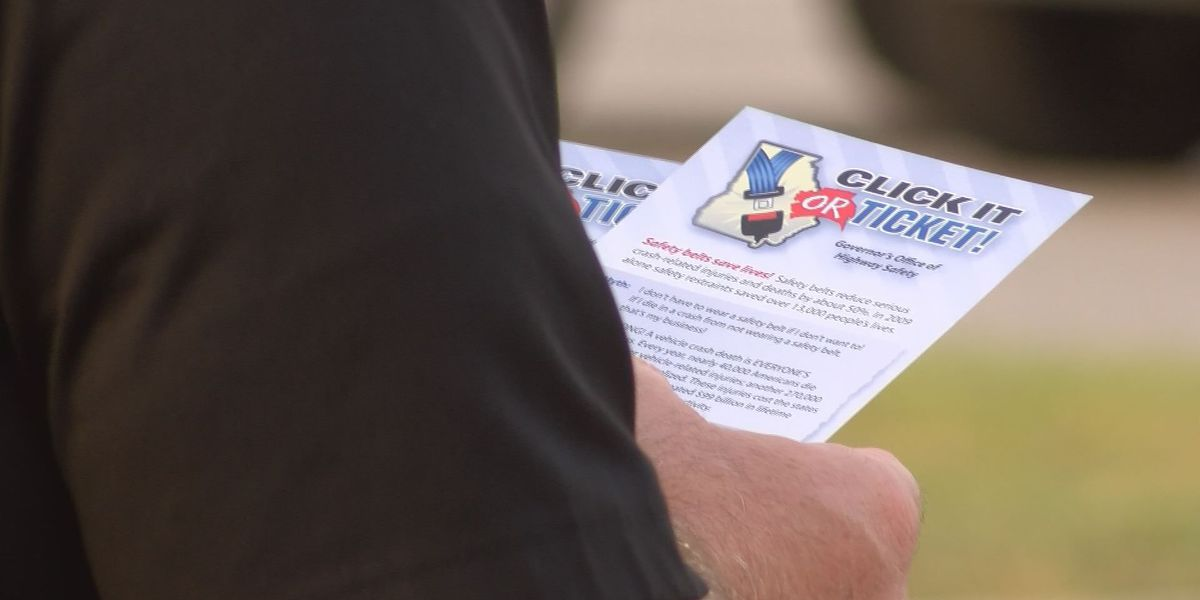 Lee Co. officials encourage young drivers to buckle up