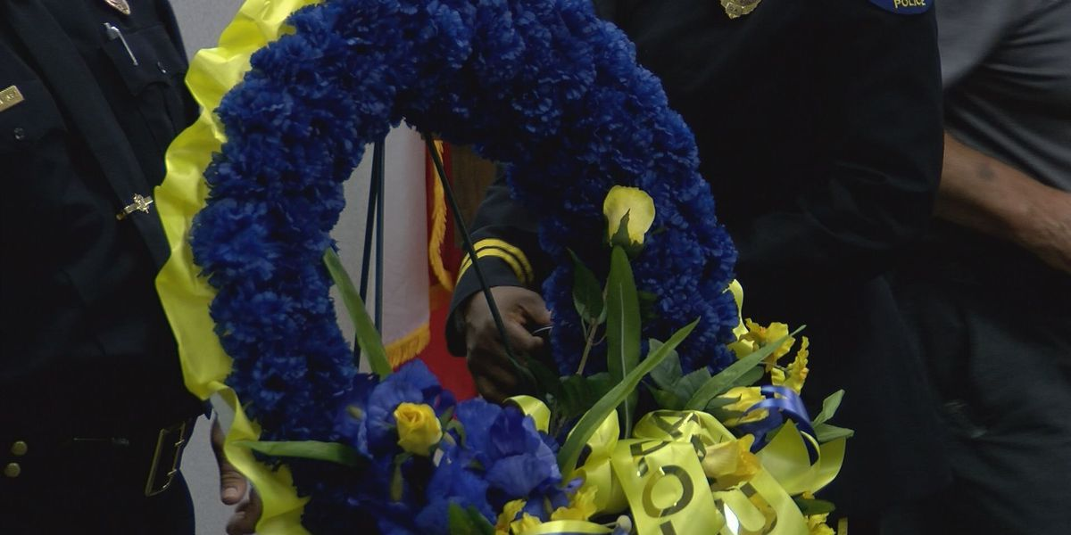 Albany and Dougherty County remember fallen officers