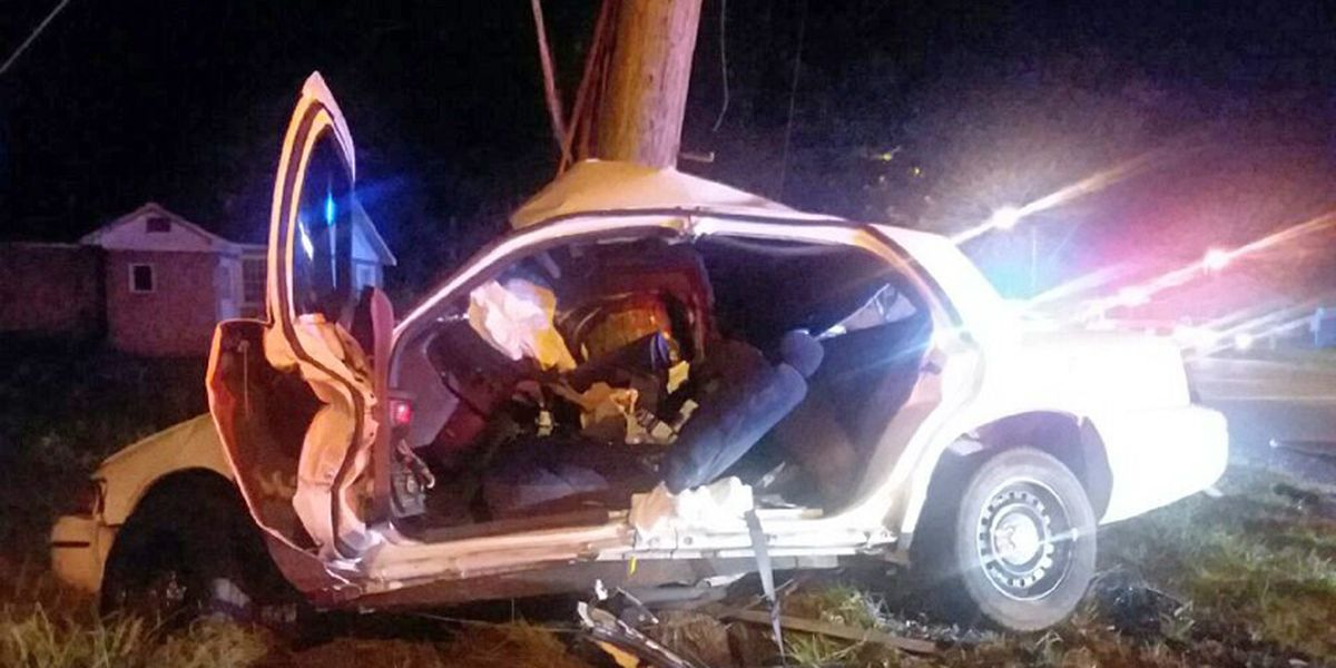 Driver injured in late night wreck