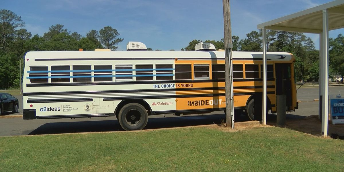 Sumter Co. students learn about life decisions as the Choice Bus rolls through town
