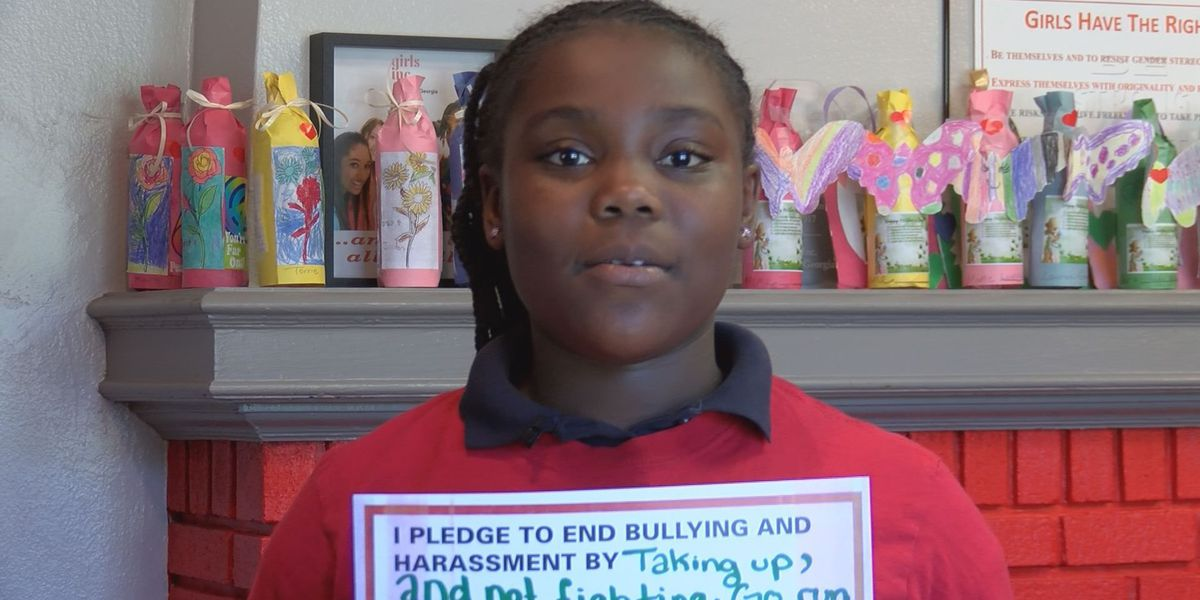 Albany Girls Incorporated pledge to stop bullying