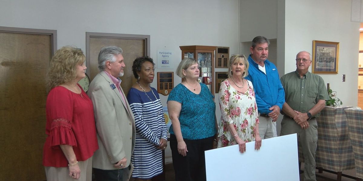 Albany Bass Club presents check to Easter Seals of Southern Ga.