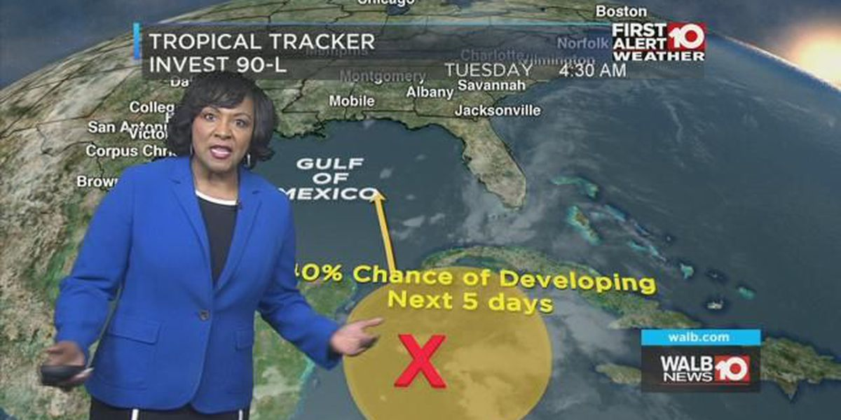 First Alert Forecast: Daily Rain as Odds Rise for a Tropical System in the Gulf