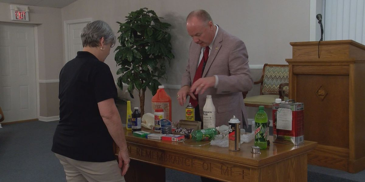 Crisp Co. Sheriff warns of drug dangers