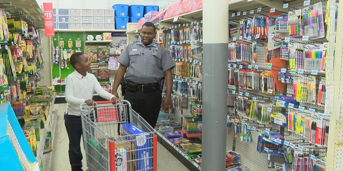 Dougherty Co. kids go shopping with the sheriff