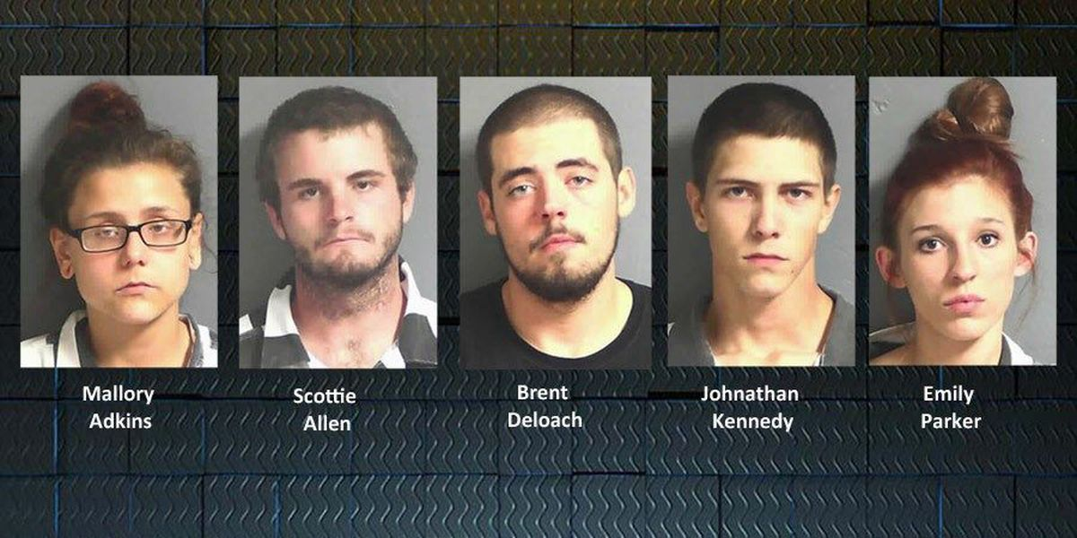5 arrested after Calhoun Co. State Prison smuggling attempt