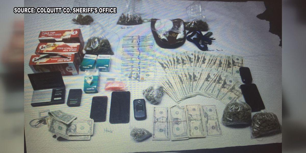 Cocaine, pot, cash seized in drug bust