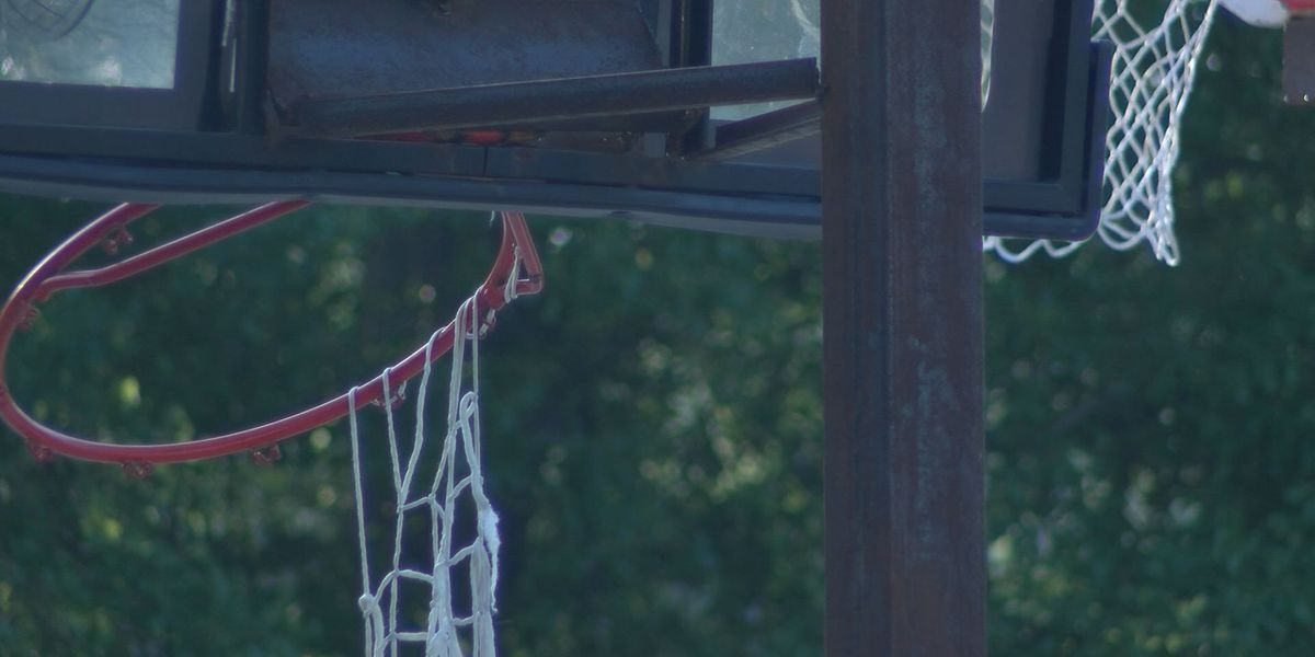'We'd just like it to stop:' basketball goals damaged again