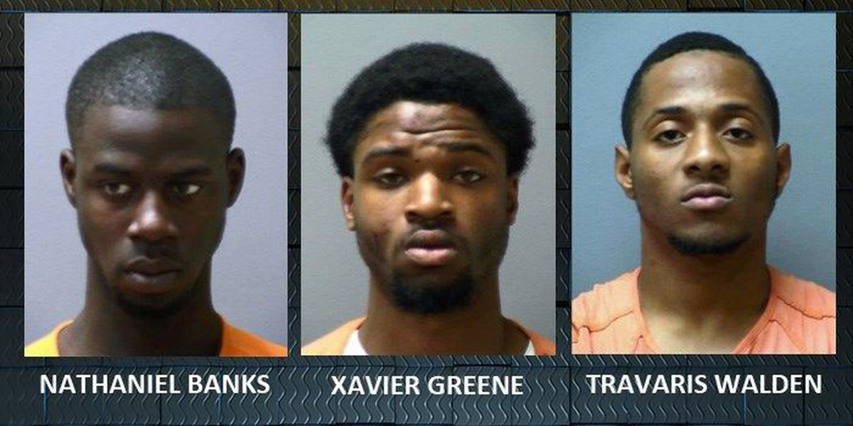 Armed robbery suspects caught
