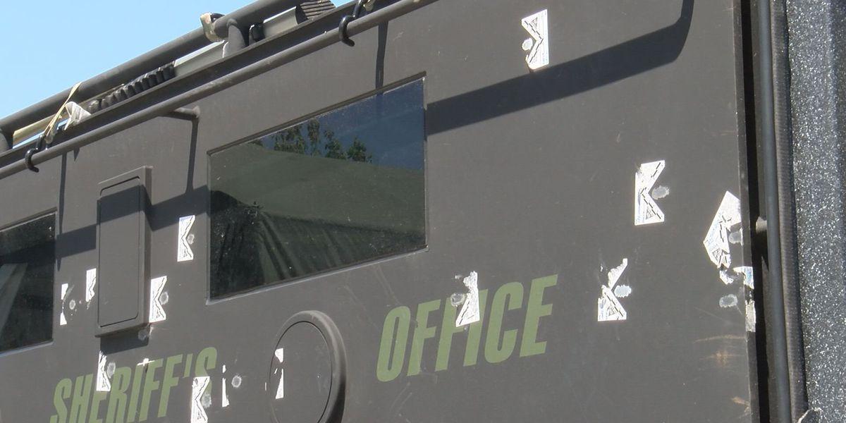 Armored vehicle helps deputies during standoff