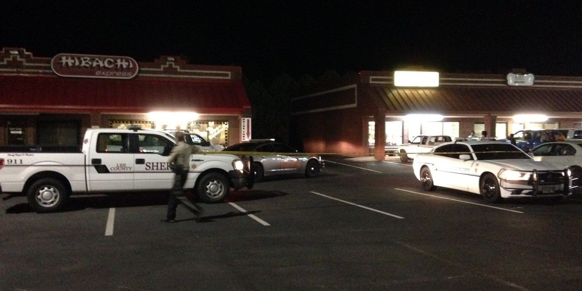 Officials searching for suspect in Hibachi armed robbery