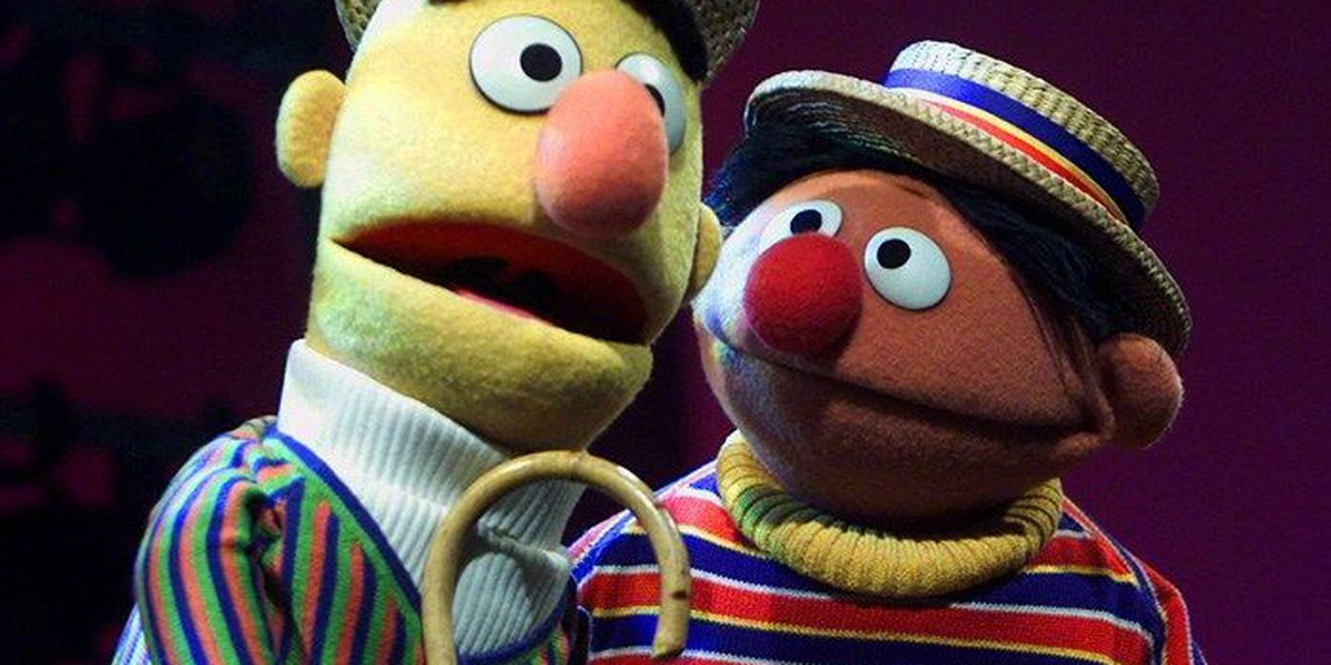Bert and Ernie are puppets and have no sexual orientation, Sesame Workshop tweets