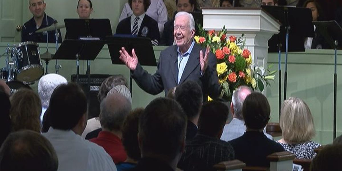 Former President Jimmy Carter scaling back Sunday school classes