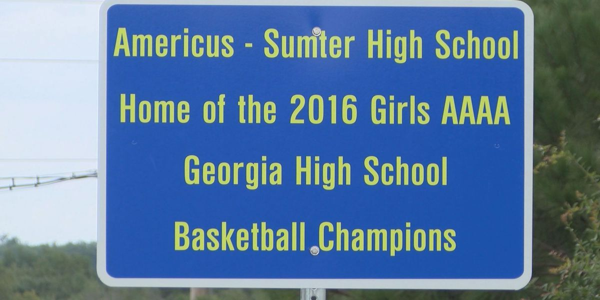 Americus honors Lady Panthers with street signs