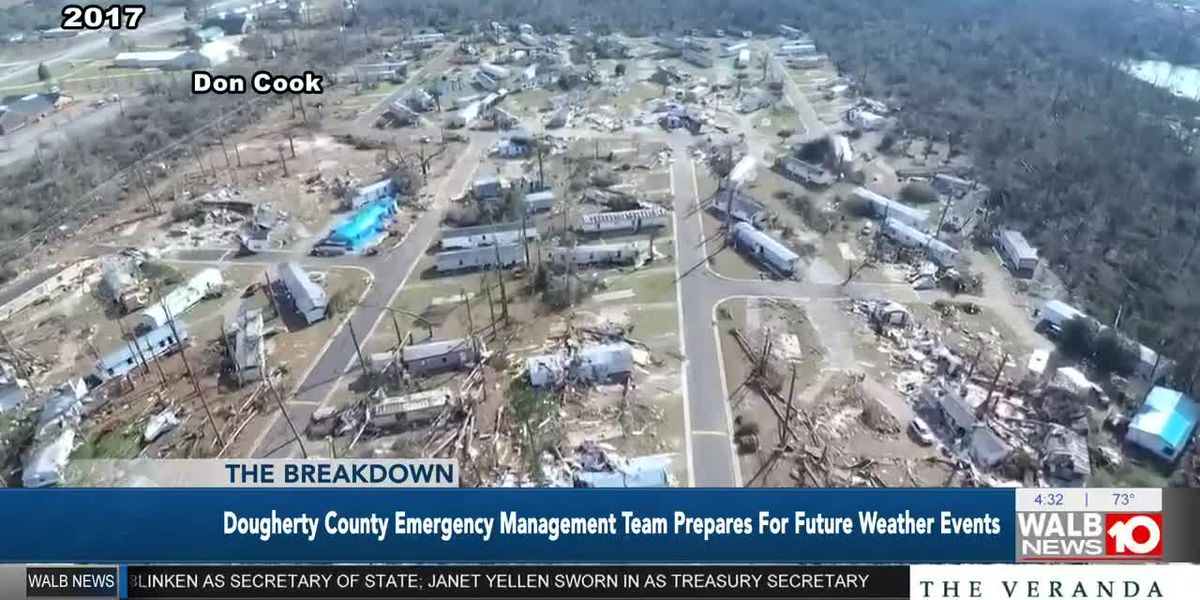 The Breakdown: Dougherty Co. Emergency Management Team prepares for future Weather events