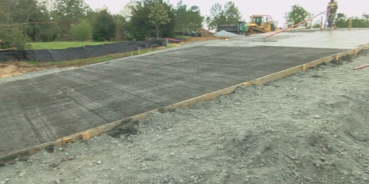 Sutton's Landing construction on schedule for March completion