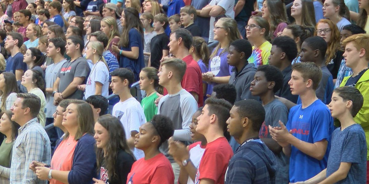 'Fields of Faith' event hosted at Deerfield-Windsor