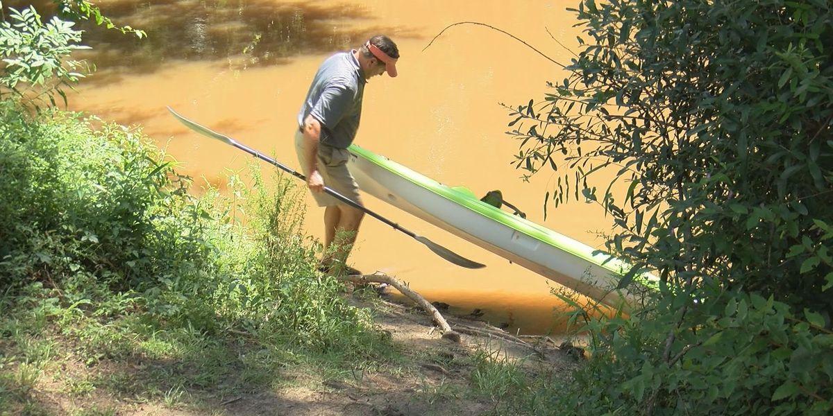 Lee Co. opens creek kayak slip on trial basis