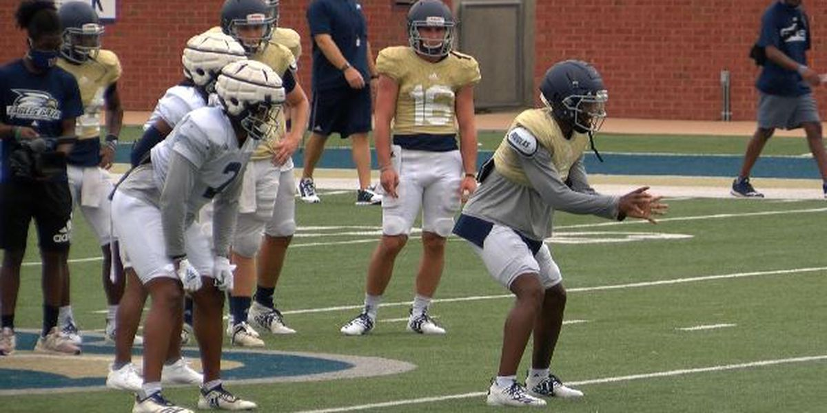 Georgia Southern football players plan peaceful march