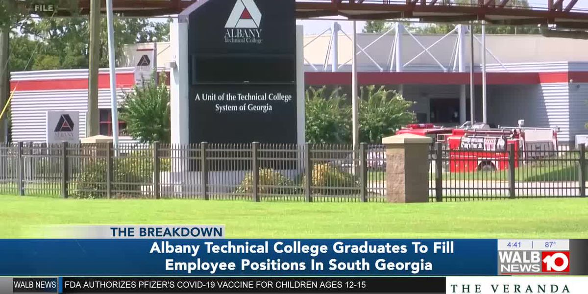 The Breakdown: Albany Technical College Graduates to fill Employee Positions in South Georgia