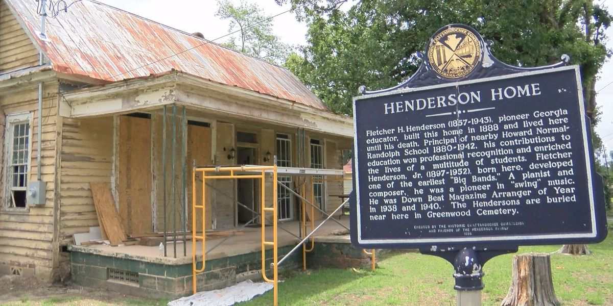 Family works to restore Henderson House, invites community to help