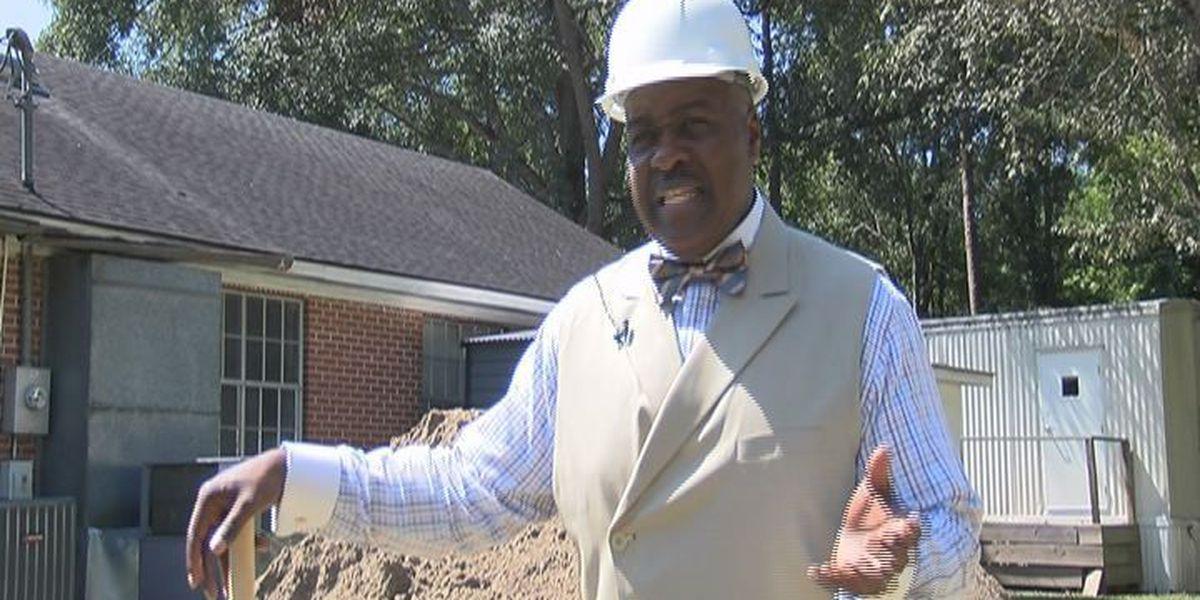 Baconton church breaks ground for family life center