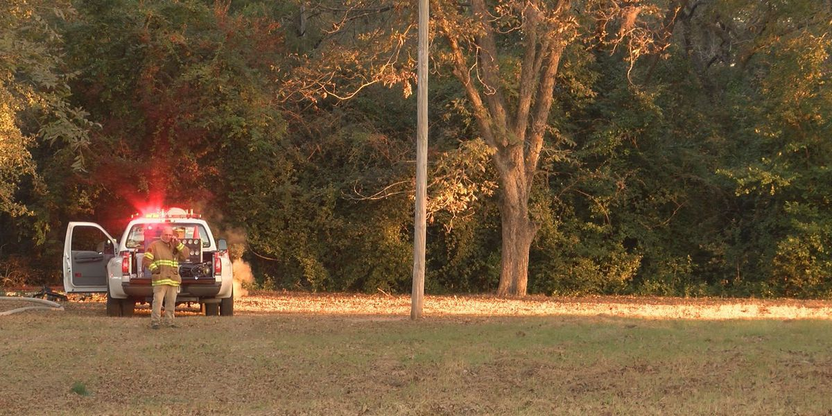 Dougherty Co. house burns, catching grass on fire