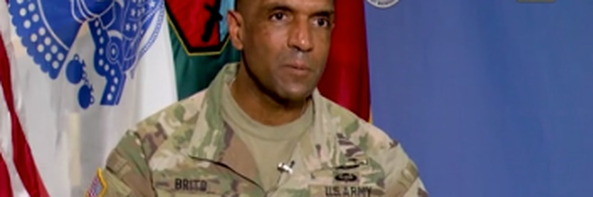 Fort Benning's first African American commanding general departs for Pentagon