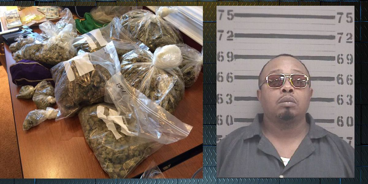 Officer sniffs out 5 lbs. of marijuana, finds $14,000 in cash