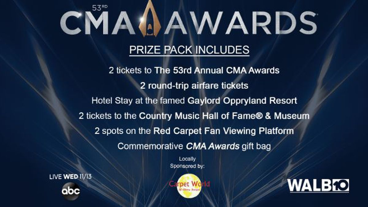 Want to win tickets to the CMA Awards?