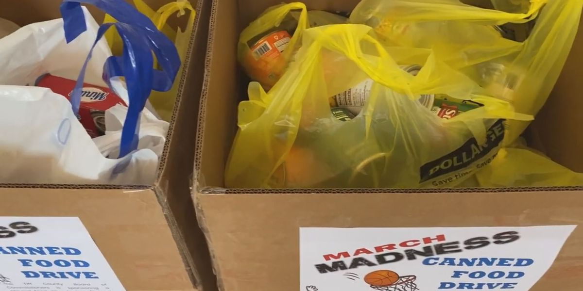 Tift Co. Board of Commissioners sponsors canned food drive