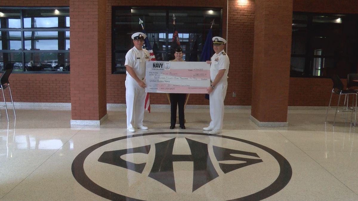 JROTC former commanding officer receives nearly $300,000 scholarship