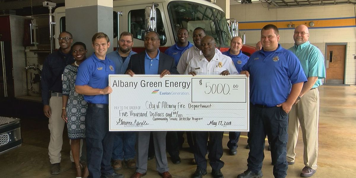 AFD gets donation to give away smoke detectors