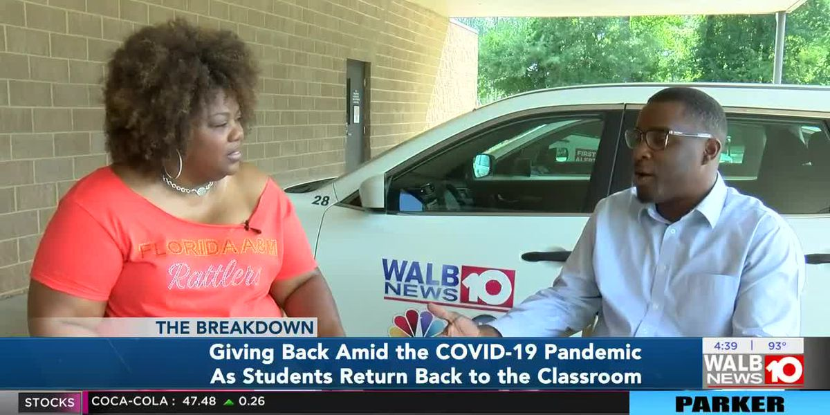 The Breakdown: Giving back amid the COVID-19 Pandemic as students return back to the classroom