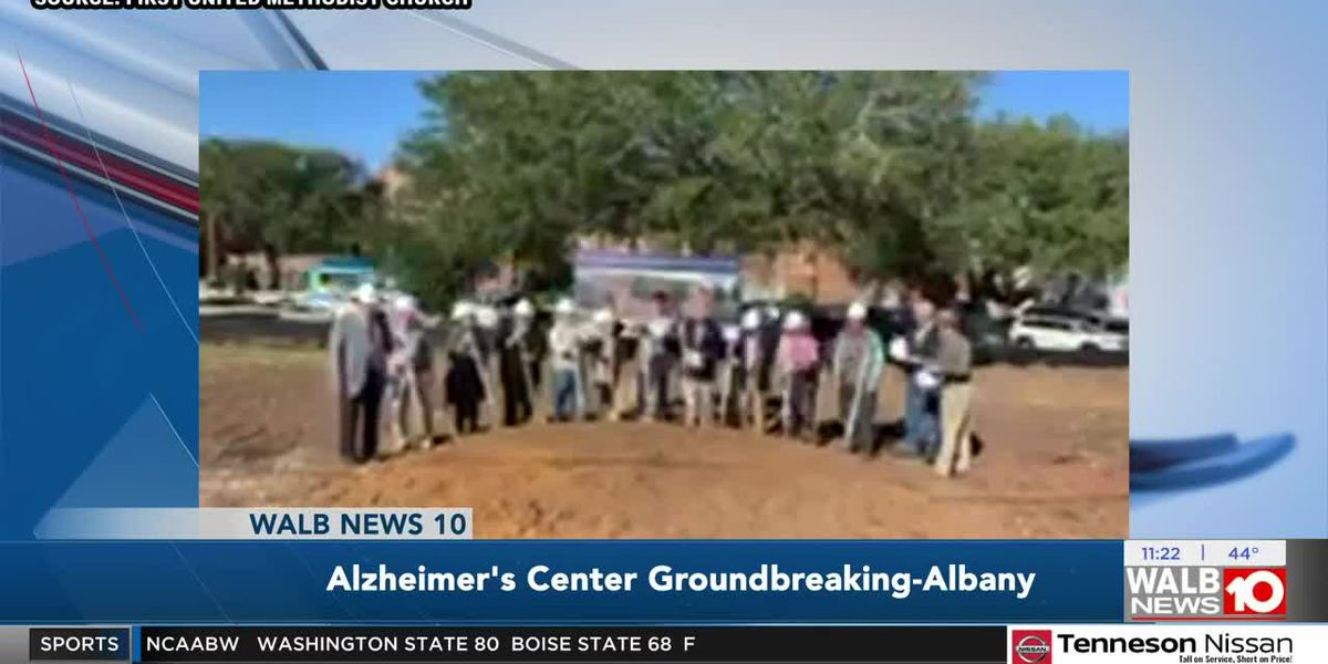 Albany church breaks ground on Alzheimer's Outreach Center