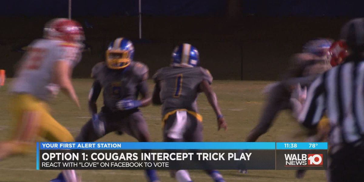 Play of the Week (10/03/18): Cougars intercept trick play