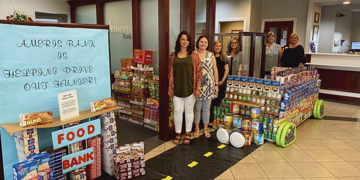 Ameris Bank raises over 40K canned goods to fight Southwest Ga. hunger