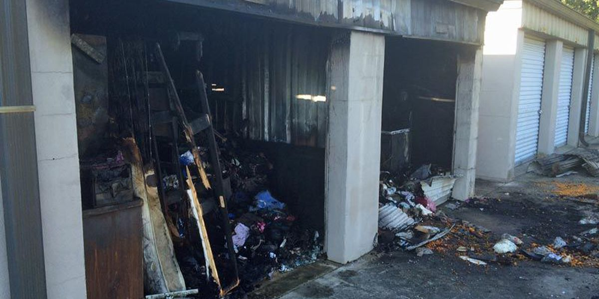 Officials investigate suspicious East Albany storage unit fire