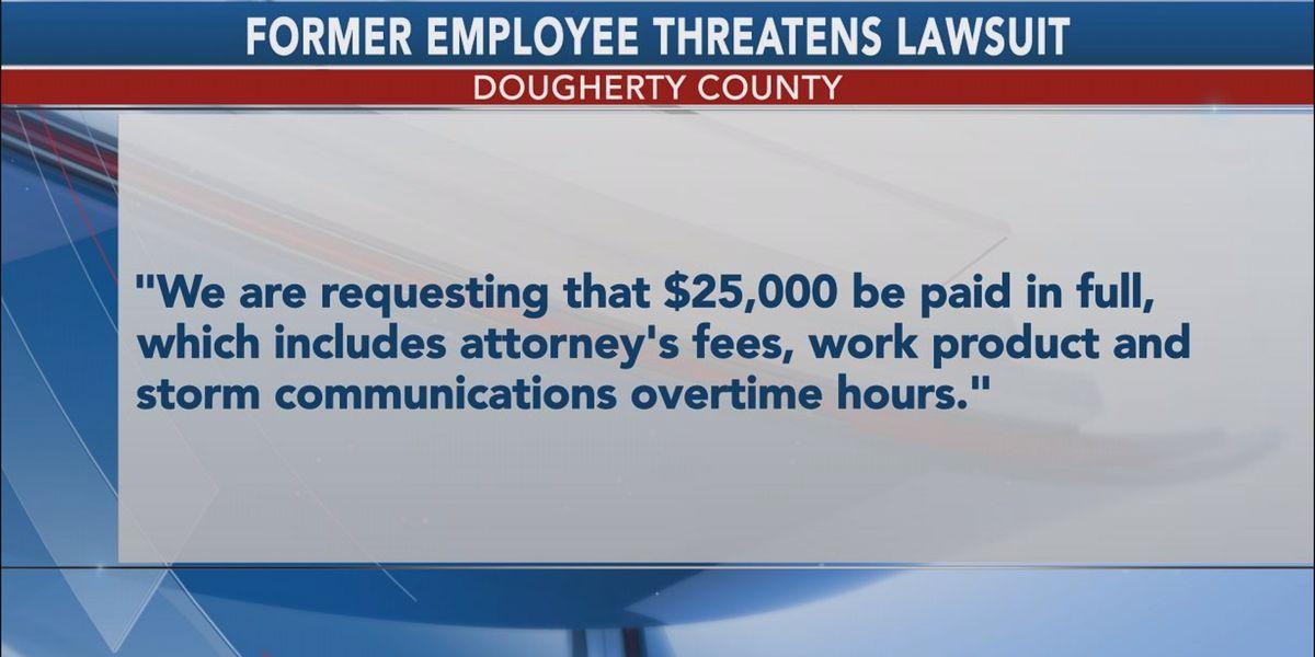 Former Dougherty Co. employee threatens lawsuit