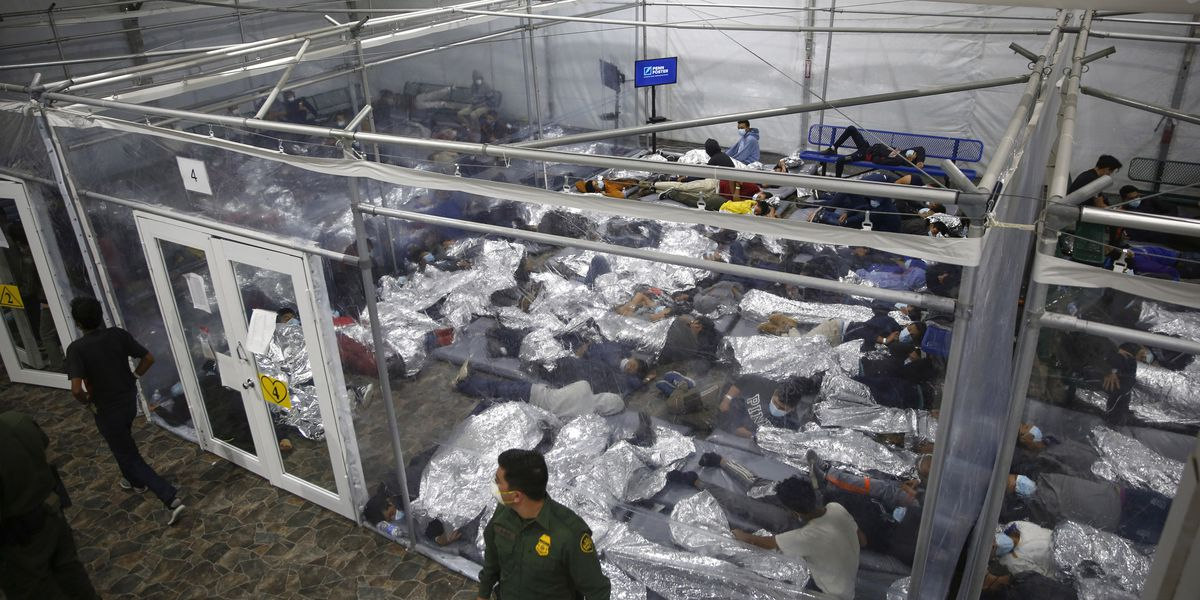 Number of children traveling alone at border eases in April