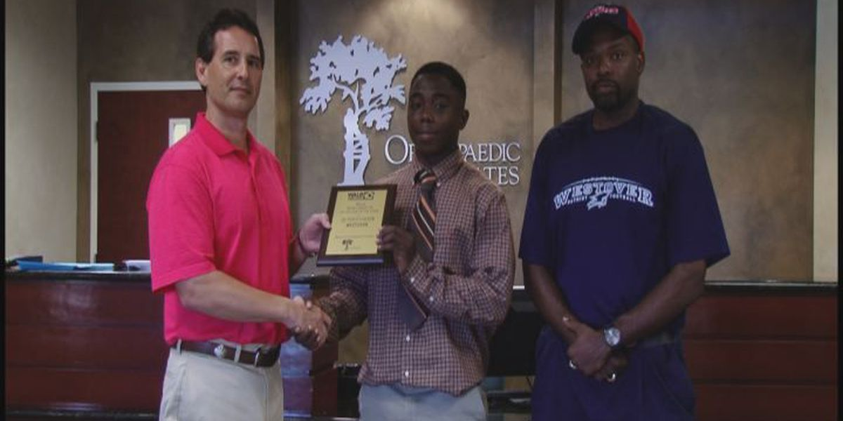 WALB PLAYER OF THE WEEK (9/17/14): Westover's Carter sparks Pats' offense in 2nd half
