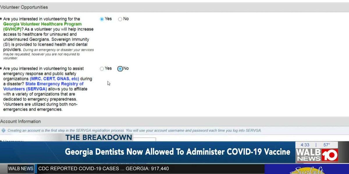 The Breakdown: Georgia dentists now allowed to administer COVID-19 vaccine