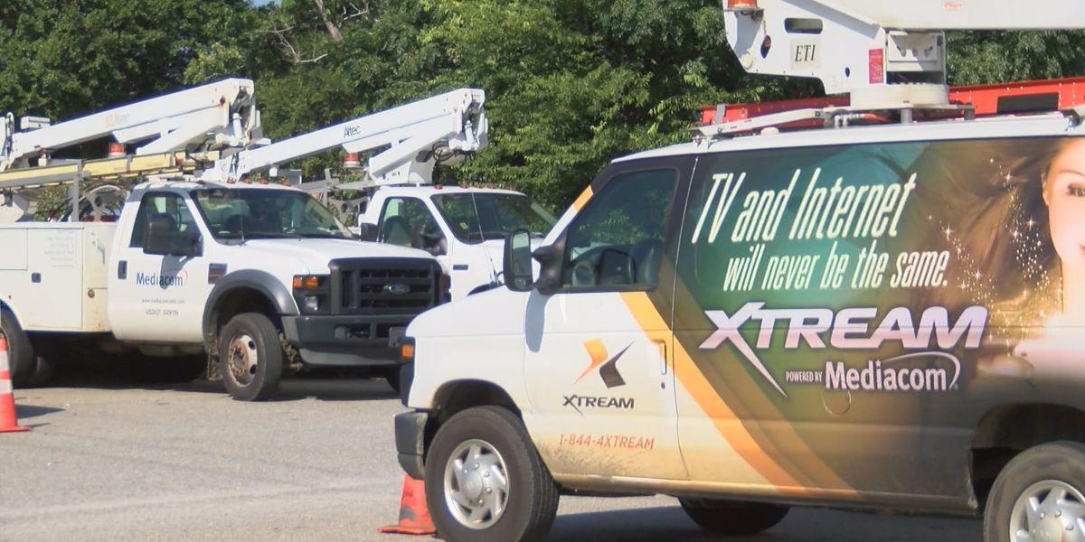 Mediacom sets up free Wi-Fi hubs in Albany