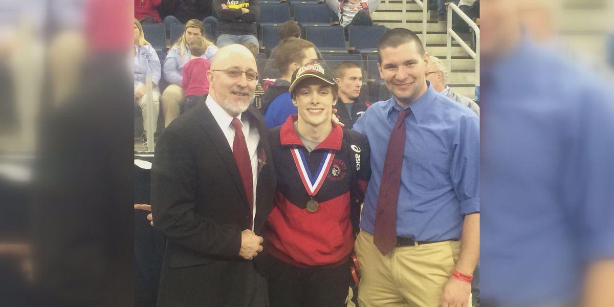 Lee's Maxfield talks state title win