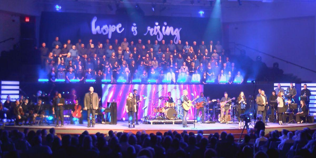 "Sherwood Baptist records new live worship album, ""Hope is Rising"""